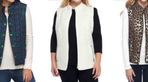 New Directions Quilter Puffer Vests Only $10.49 (Regular $42) – Includes Petite and Plus Sizes!