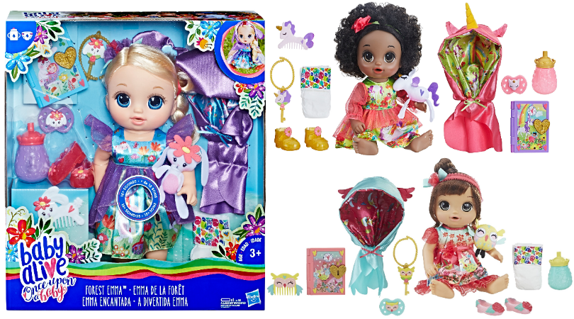 Baby Alive Once Upon A Baby Forest Tales Dolls Are Marked