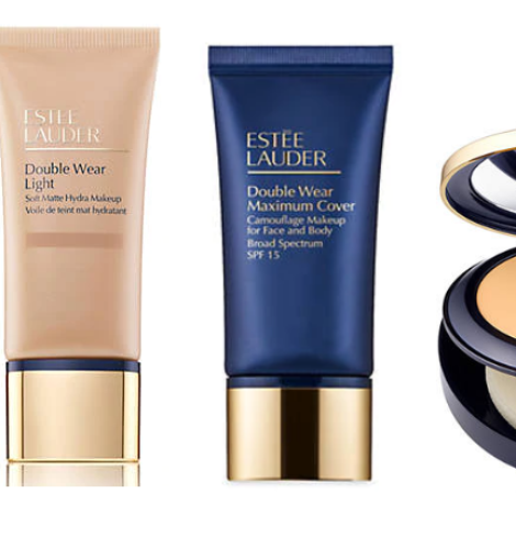 Estée Lauder Double Wear Foundation + Free 3 Piece Gift Only $34.40!