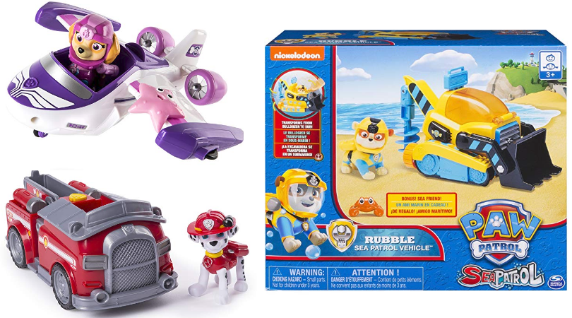Save Big On Select Paw Patrol Toys Today Only