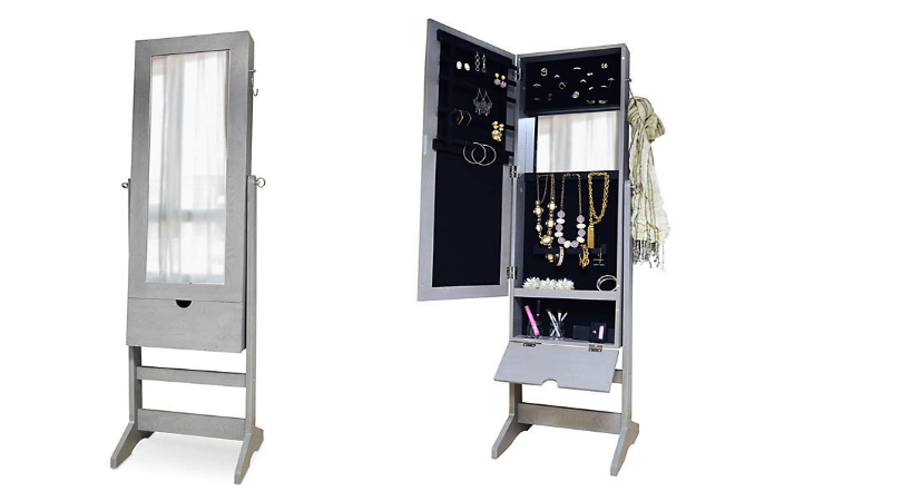 Floor Standing Mirror Amp Jewelry Box Combo 75 Off