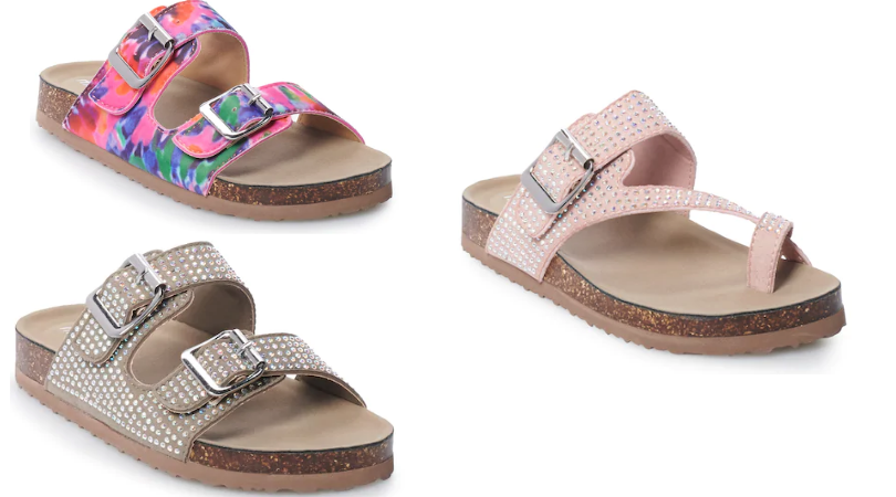 Madden Girl Sandals for Girls Only $11