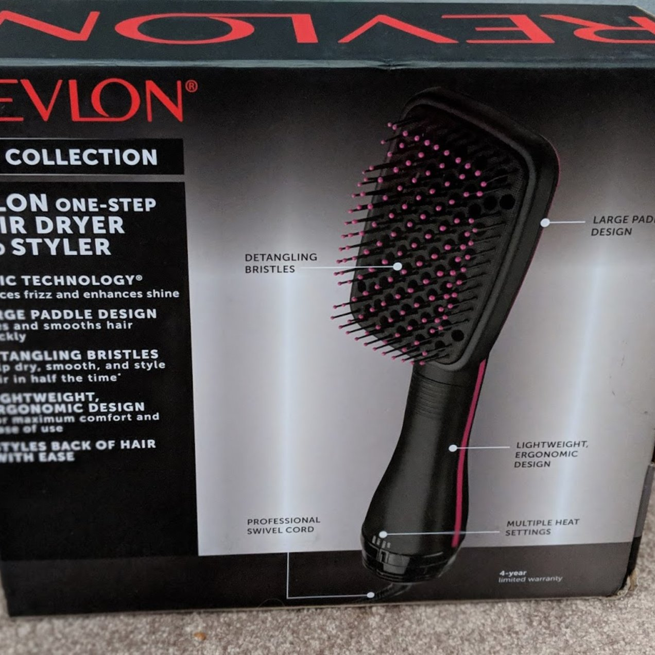 Revlon One-Step Hair Dryer & Styler!