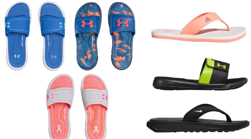 Slides Amp Flip Flops From Nike Under Armour Amp Adidas Over