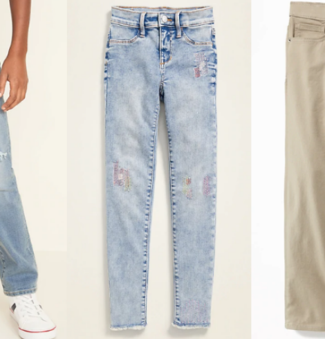 Old Navy Jeans for Kids Only $7 Today Only!