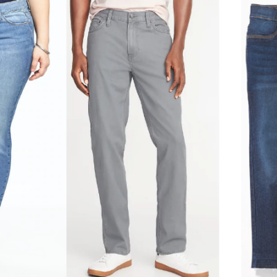 Old Navy Jeans for the Family Only $10 – $12 – Today Only!