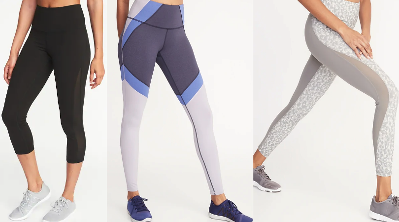 0b99740f400c3 Old Navy Women's Compression Leggings Only $12 (Regular $34.99) in Sizes XS  – 2X – Today Only!