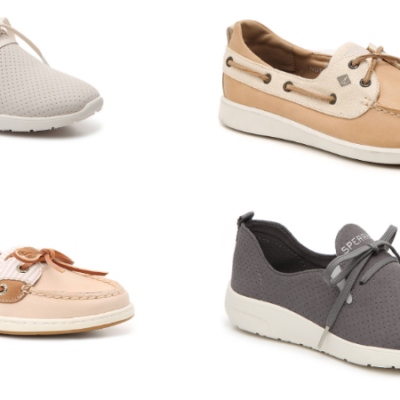 Sperry Boat Shoes and Slip-On Sneakers Only $14.99 (regular up to $90)!