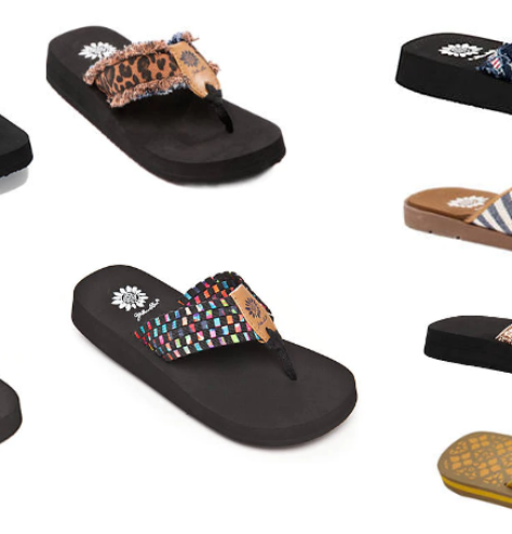 Yellow Box Flip Flops Only $15 (Regular up to $49)!