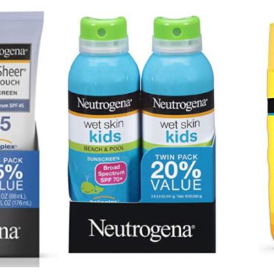 Neutrogena Sunscreen Deals!