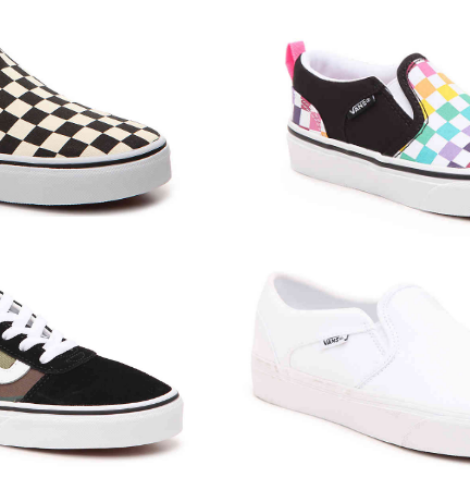 Save on Vans for Kids and Adults!