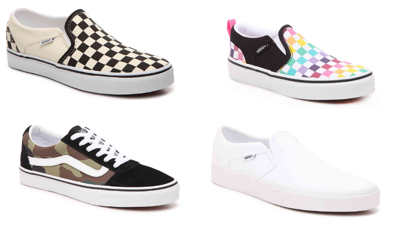 deals on vans shoes
