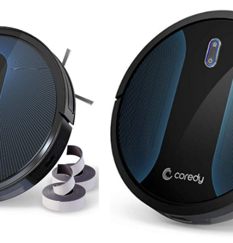 Save on Coredy Robotic Vacuums – Today Only!