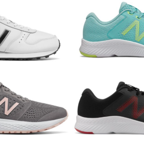 New Balance Flash Sale – Select Styles Only $35 (Regular up to $84.99)!