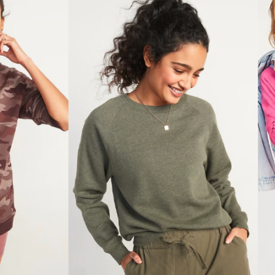 Old Navy Hoodies & Sweatshirts for the Family $10 – $12 Today Only!