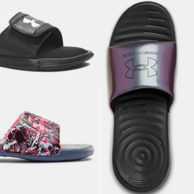 Save on Under Armour Slides for Men, Women and Kids!