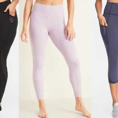 Old Navy Women's Elevate Compression Leggings Deal!