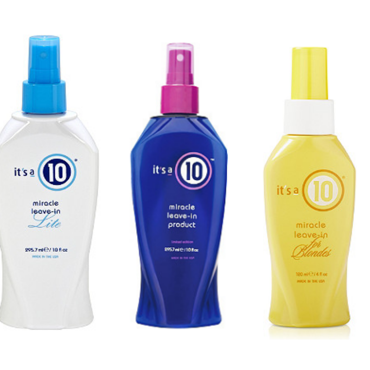 It's a 10 Haircare Miracle Leave In Products 50% Off!