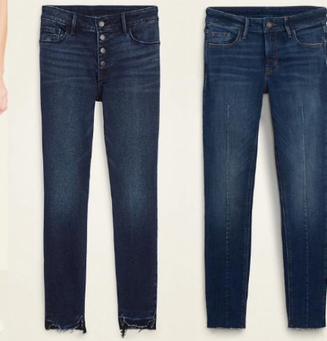 Old Navy Women's Rockstar Jeans as low as $14!