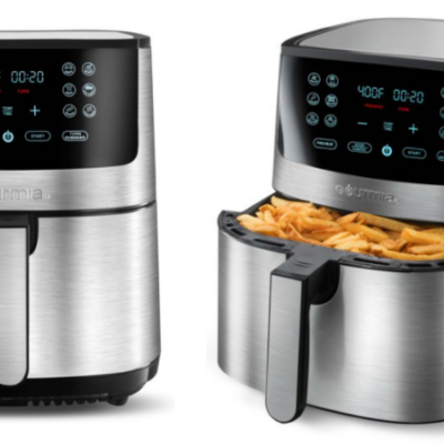 Gourmia 8-Qt. Stainless Steel Digital Air Fryer Only $49!