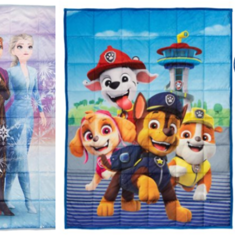 Weighted Blankets and Sleeping Bags for Kids Only $15 (Regular $49.99)!