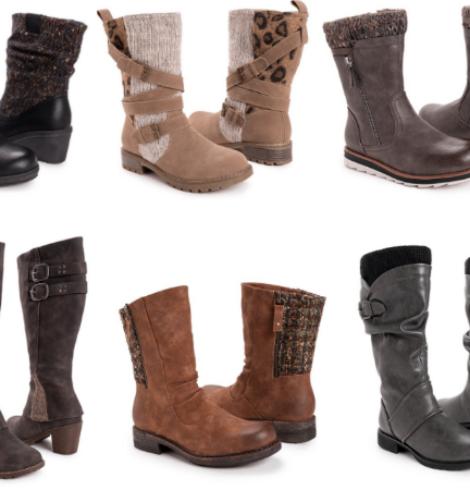 Muk Luks Women's Boots Only $16.99 (Regular $100+)!