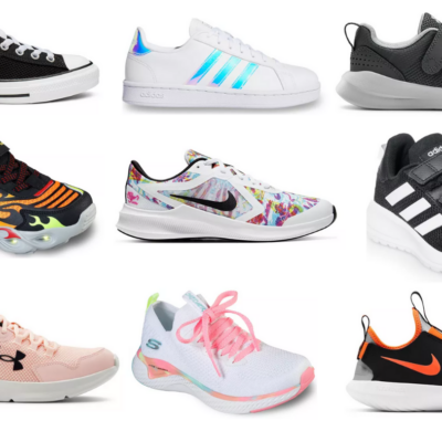 Kohl's Name Brand Athletic Shoes for Kids Only $25 + Earn Kohl's Cash (Nike, Converse, Adidas & More)!