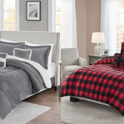 True North Mink to Sherpa Comforter Sets 70% Off + Extra 15% – 30% Off Code!