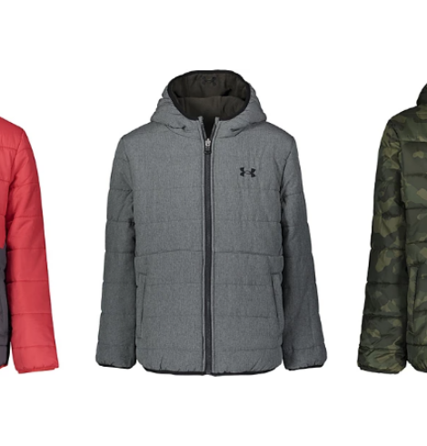 Under Armour Pronto Puffer Jacket for Boys – 70% Off Today Only!
