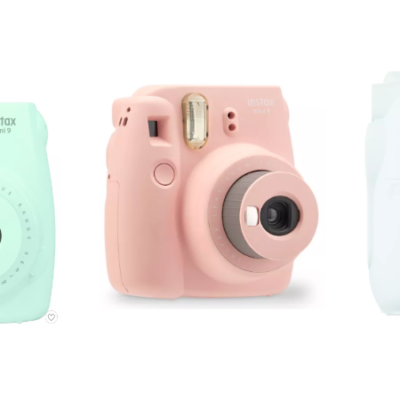 Fuijifilm Instax Mini 9 Camera Deal + Get a Target Gift Card with Purchase!!