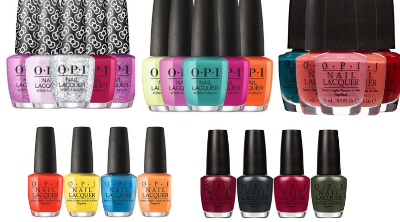 Opi Nail Polishes As Low As 3 58 Today Only