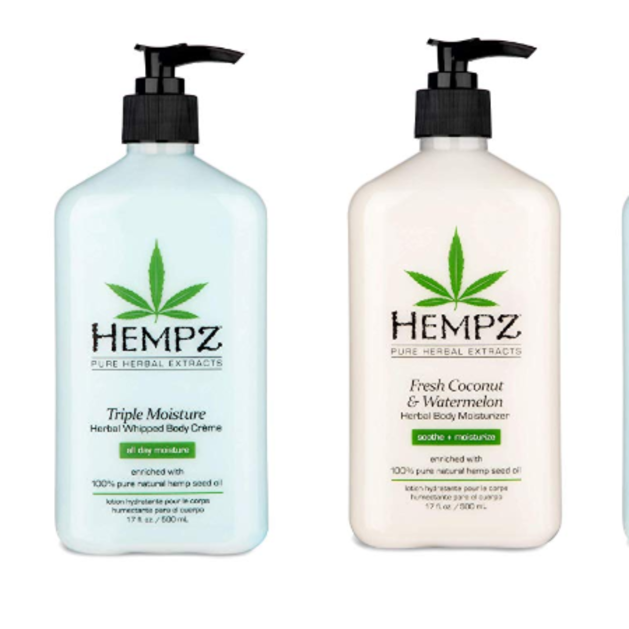 Hempz Natural Herbal Body Moisturizer & Body Wash Deal!
