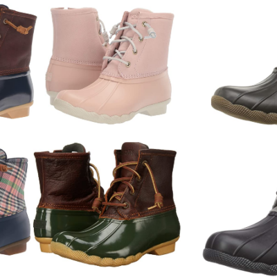 Sperry Women's Saltwater Crunch Rain Boot Deal!