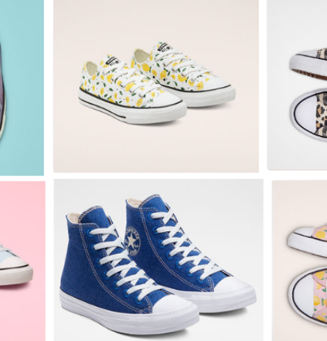 Extra 45% Off Already Discounted Converse Sneakers for the Whole Family!
