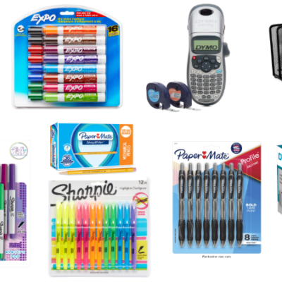 Save $10 for every $25 Spent on Select Expo, Sharpie, and More!