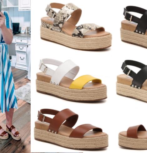 Steve Madden Fifer Wedge Sandals Only $12 ($90 Value)!