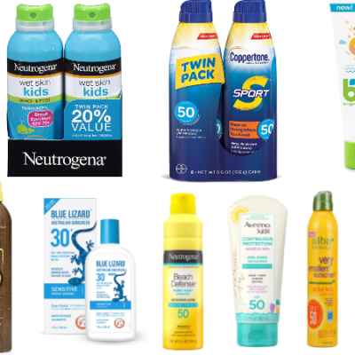 Amazon Sunscreen Deal – Save $5 when you spend $20!