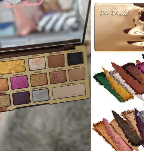 Too Faced Chocolate Gold Eye Shadow Palette 50% Off – Today Only!