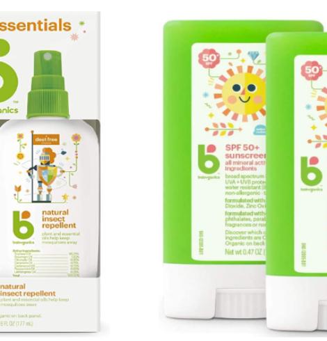 Babyganics Sunscreen and Bug Spray Deals!