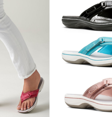 Clarks Women's Cloudsteppers Sandals Only $20 Shipped!