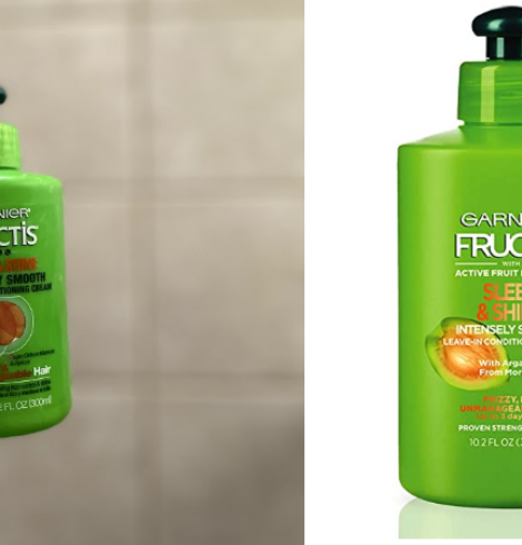 Garnier Fructis Sleek & Shine Intensely Smooth Leave-In Conditioning Cream Deal!