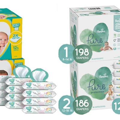 Pampers Baby Diapers and Wipes Starter Kit – $25 Coupon!