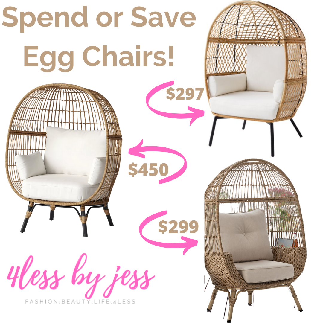 Spend or Save? Egg Chairs!