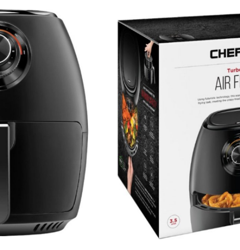 Chefman TurboFry 3.6 Quart Air Fryer Oven Only $30 – Today Only!