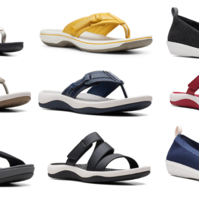 Clarks Women's Cloudsteppers Sandals Only $28 Shipped (Regular $55)!
