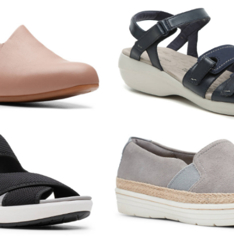 Clarks Shoes Only $10 Shipped (Regular up to $90)!