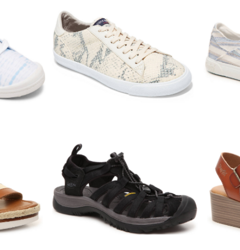 DSW Shoes $14.99 or Less – Blowfish, Keen, Roxy, Clarks & More!
