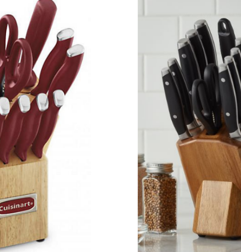 65% Off Knife Sets from Cuisinart & Biltmore – Today Only!