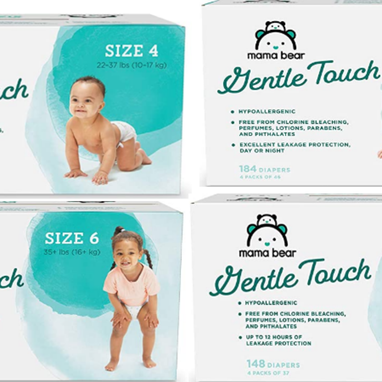 Mama Bear Gentle Touch Diapers – Possible 50% Off Coupon!