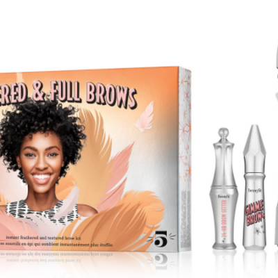 Benefit Cosmetics 5-Pc. Feathered & Full Brows Set Only $20.40 (Valued at $65) + More!